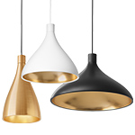 swell single pendant lamp  - pablo
