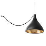 swell single string lamp  - pablo