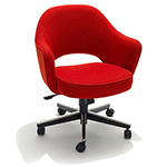 saarinen executive swivel arm chair  -