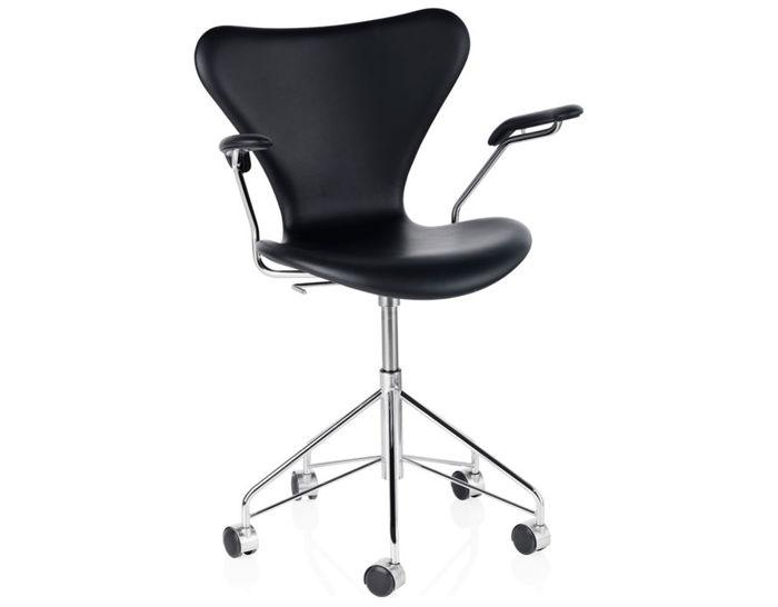swivel arm chair full upholstered