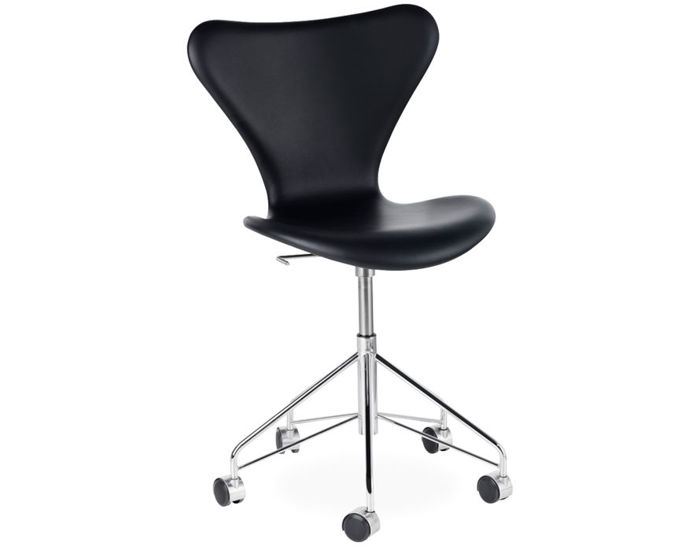series 7 swivel side chair full upholstered