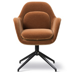 swoon chair with swivel base  -