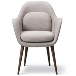swoon chair wood base  - Fredericia