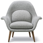 swoon lounge chair  - Fredericia