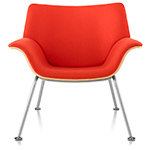 swoop plywood lounge chair  - Herman Miller