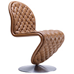 system 1-2-3 deluxe dining chair - Verner Panton - VerPan aps