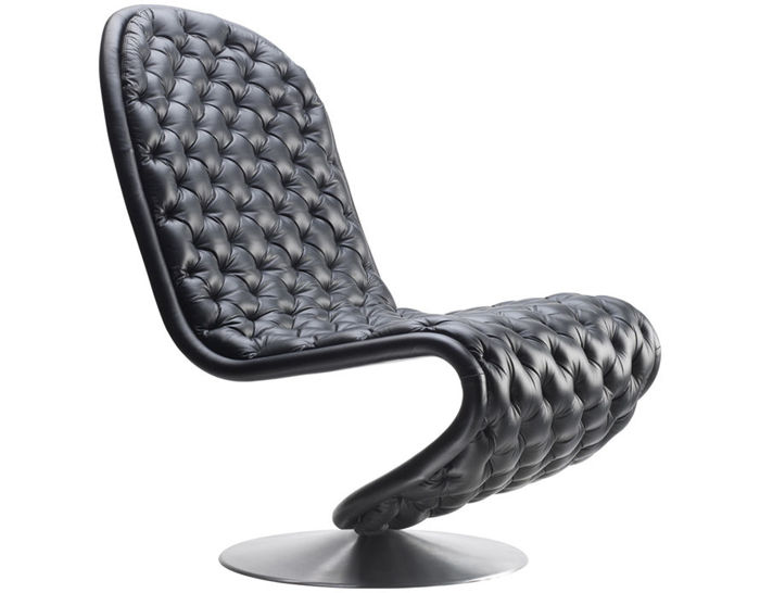 panton system 1-2-3 deluxe lounge chair