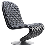 panton system 1-2-3 deluxe lounge chair  -