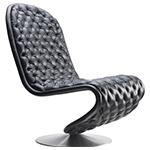 system 1-2-3 deluxe lounge chair - Verner Panton - VerPan aps