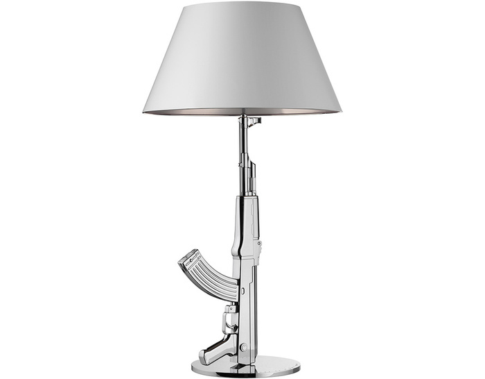 Table gun lamp