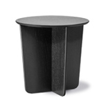 tableau round side table  -