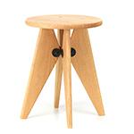 tabouret solvay stool - Jean Prouvé - vitra.