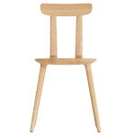 tabu backrest wood chair 075  - Alias