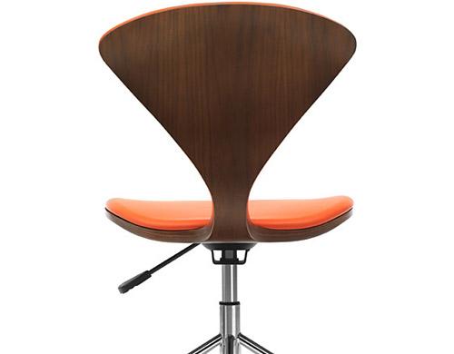 Superbe Cherner Task Chair With Upholstered Seat U0026 Back