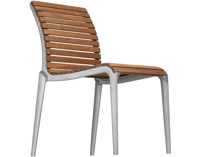 Teak Stacking Chair Hivemodern Com
