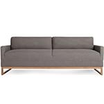 the diplomat sofa  - blu dot