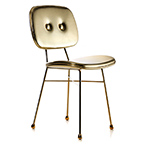 the golden chair  - moooi