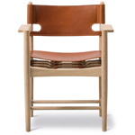 the spanish dining chair with arms - Borge Mogensen - Fredericia
