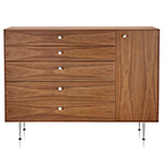 nelson thin edge chest cabinet  -