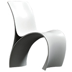 three skin chair - Ron Arad - Moroso