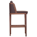 throne barstool with upholstery  -