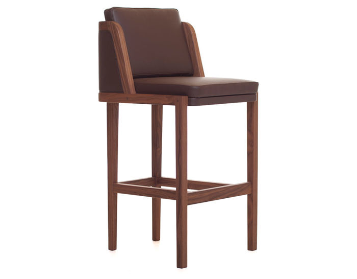 throne breakfast barstool with upholstery