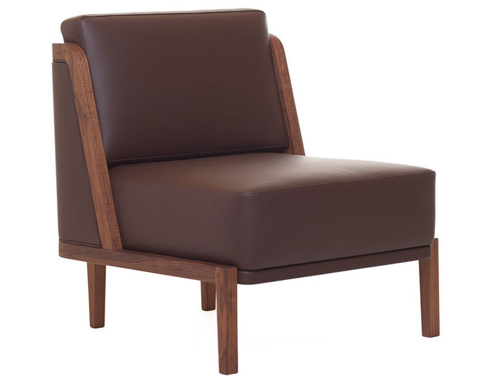 throne lounge chair 269 with upholstery