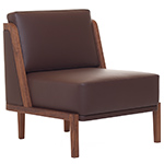 throne lounge chair 269 with upholstery  -