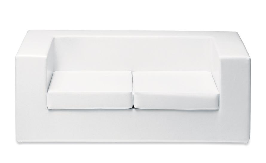 throw-away two seat sofa