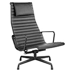 eames® aluminum group lounge chair  -