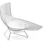 asymmetric chaise lounge with seat cushion  -