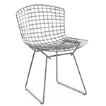 bertoia side chair unupholstered  -