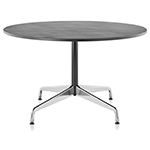 eames round table with veneer top/vinyl edge  -