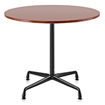 eames small table with veneer top & edge  -
