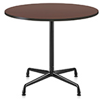 eames small table with veneer top & vinyl edge  -