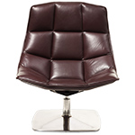 jehs+laub pedestal lounge chair  -