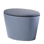 maya lin stones childs seat with cushion  -