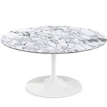saarinen coffee table arabescato marble  -