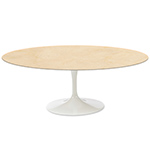 saarinen coffee table empire beige marble  -