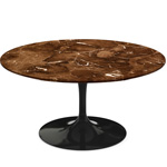 saarinen coffee table espresso marble  -