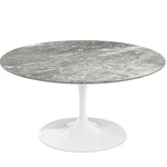 saarinen coffee table grey marble  -