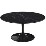 saarinen coffee table nero marquina marble  -