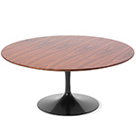 saarinen coffee table teak or rosewood  -