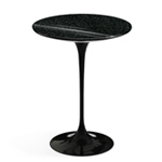 saarinen side table black granite  -