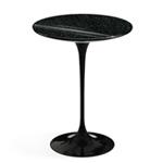 saarinen side table black granite  -