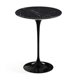 saarinen side table nero marquina marble  -