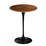 saarinen side table teak or rosewood  -