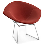 bertoia small diamond chair with full cover  -
