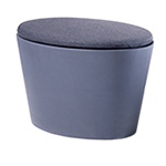 maya lin stones adult seat with cushion  -