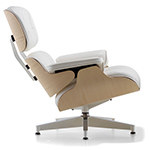 white ash eames® lounge chair  -